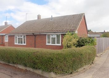 Thumbnail 2 bed detached bungalow for sale in Cranmer Court, Fakenham