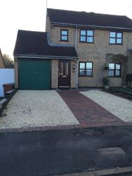 Thumbnail 2 bed semi-detached house to rent in Woodbank, Burbage, Hinckley