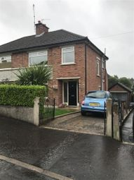Thumbnail 3 bed semi-detached house to rent in Cleveley Park, Belfast