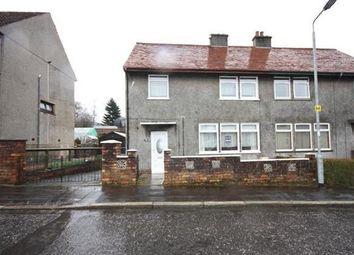 Thumbnail 3 bed semi-detached house for sale in Newbiggin Terrace, Dalmellington, Ayr