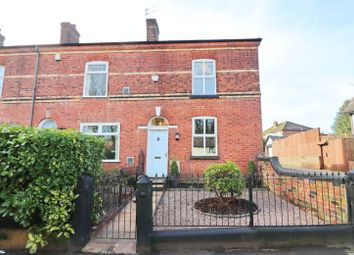 Thumbnail 2 bed terraced house for sale in Greenleach Lane, Roe Green, Worsley