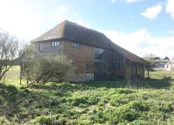 Thumbnail 4 bed barn conversion for sale in Holly Bush Barn, Warehorne Road, Kenardington, Ashford, Kent