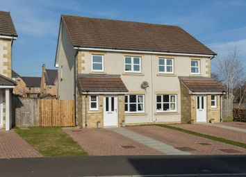 Thumbnail 3 bed semi-detached house for sale in Strae Brigs, St. Boswells, Melrose
