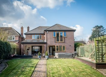 Thumbnail 4 bed detached house for sale in The Green, Shustoke, Coleshill, Birmingham