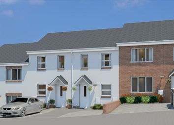 Thumbnail 2 bed terraced house for sale in Plot 8, Bowling Green View, Cullompton, Devon