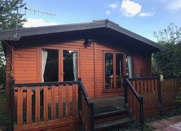 Thumbnail 2 bed lodge for sale in Abbey View, Abbey Road, Leiston, Suffolk