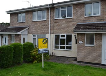 Thumbnail 1 bed flat to rent in Wharf Close, St. Georges, Telford