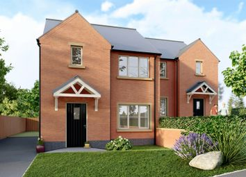 Thumbnail 2 bed semi-detached house for sale in Oakwell Drive, Crich, Matlock