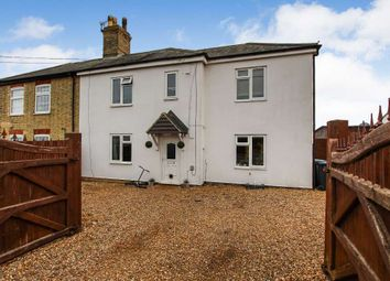 Thumbnail 4 bed semi-detached house for sale in Hill Cottages, Chettisham