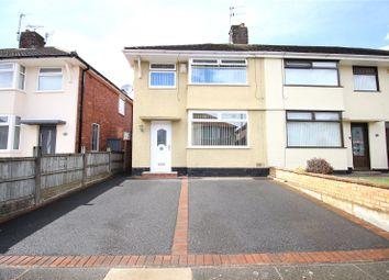 Thumbnail 3 bed semi-detached house for sale in Ashbourne Crescent, Liverpool, Merseyside