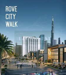 Thumbnail Studio for sale in Rove City Walk, City Walk, Dubai, United Arab Emirates