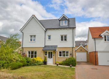 Thumbnail 4 bed detached house for sale in Eldridge Close, Clavering, Saffron Walden, Essex