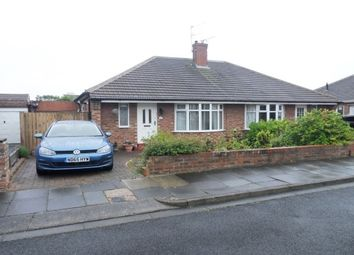 Thumbnail 2 bed bungalow to rent in Hampton Road, North Shields