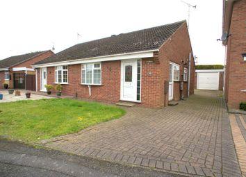 Thumbnail 2 bedroom semi-detached bungalow to rent in Lockington Close, Chellaston, Derby