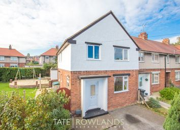 Thumbnail 3 bed end terrace house for sale in The Close, Greenfield, Holywell