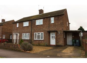 Thumbnail 3 bed semi-detached house for sale in Lilac Road, Peterborough