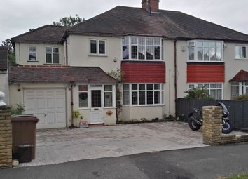 Thumbnail 4 bed semi-detached house for sale in Rosehill Park West, Sutton, Surrey