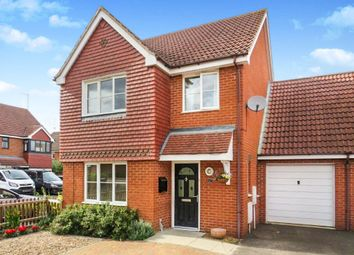 Thumbnail 3 bedroom link-detached house for sale in Faraday Close, Yaxley, Peterborough