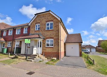 Thumbnail 3 bed end terrace house to rent in Grice Close, Hawkinge