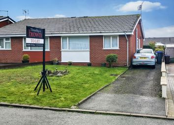 Thumbnail 2 bed bungalow to rent in Severn Close, Biddulph, Stoke-On-Trent