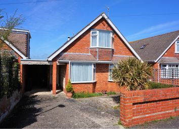 Thumbnail 3 bed detached bungalow for sale in Weymouth Bay Avenue, Weymouth