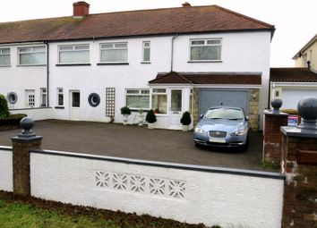 Thumbnail 3 bed semi-detached house for sale in Pontypridd Road, Barry