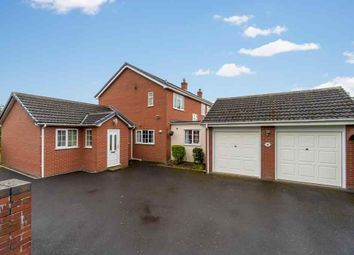 Thumbnail 4 bed detached house for sale in Newtown Gardens, Newtown, Baschurch, Shrewsbury