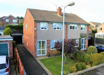 Thumbnail 3 bed semi-detached house for sale in Vernon Avenue, Gonerby Hill Foot, Grantham