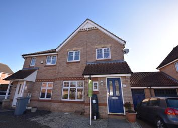 Thumbnail 3 bed semi-detached house for sale in Evans Way, Old Catton, Norwich