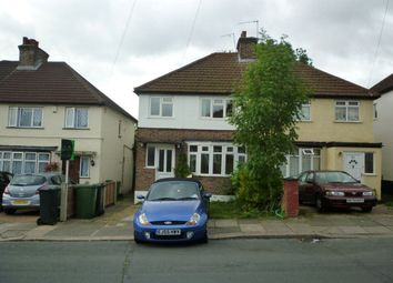 Thumbnail 3 bed property to rent in Oakdene Road, Watford, Hertfordshire