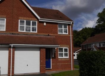 Thumbnail 3 bed semi-detached house to rent in Teal Grove, Wednesbury