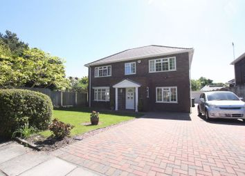 Thumbnail 4 bed detached house for sale in Barnston Towers Close, Heswall, Wirral