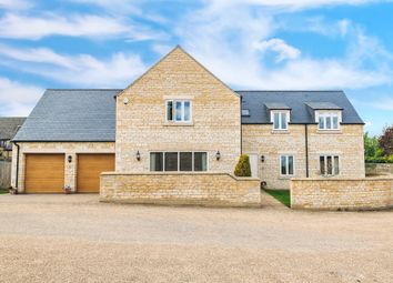 Thumbnail 5 bed detached house for sale in Main Street, Yarwell, Peterborough