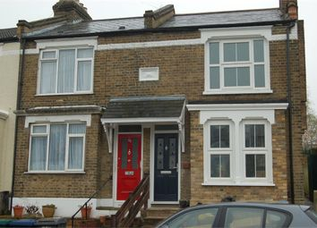 Thumbnail 2 bed end terrace house to rent in Brunswick Crescent, London