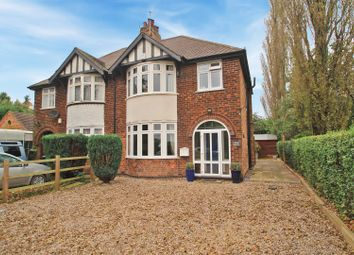 Thumbnail 3 bed semi-detached house for sale in Spring Lane, Lambley, Nottingham