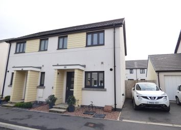 Thumbnail 2 bed semi-detached house for sale in Westleigh Way, Saltram Meadows, Plymstock
