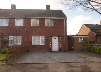 Thumbnail 2 bed semi-detached house for sale in Ellesmere Road, Cannock