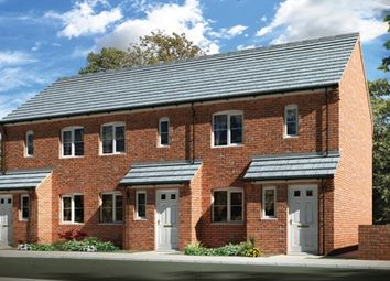 """Thumbnail 2 bed terraced house for sale in """"The Penrith"""" at Station Road, North Hykeham, Lincoln"""