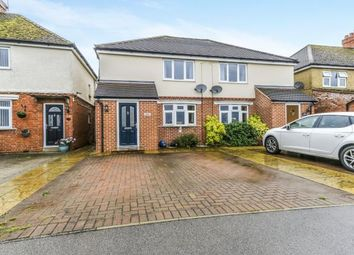 Thumbnail 3 bed semi-detached house for sale in Olney Road, Lavendon, Olney, Buckinghamshire
