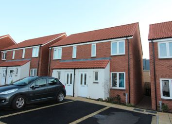 Thumbnail 2 bed semi-detached house to rent in Inner Westland, Cranbrook, Exeter