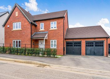 Thumbnail 4 bedroom detached house for sale in Sorrel Crescent, Wootton, Northampton