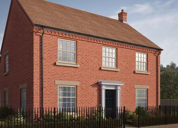 "Thumbnail 5 bed detached house for sale in ""The Burghley"" at Central Avenue, Brampton, Huntingdon"