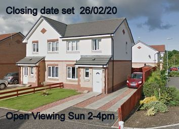 Thumbnail 3 bed semi-detached house for sale in Whitacres Road Parklands, Glasgow