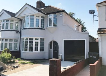 Thumbnail 3 bed semi-detached house to rent in Great West Road, Heston