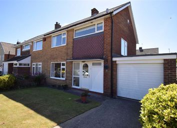 Thumbnail 3 bed semi-detached house for sale in Farm Hill Road, Cleadon, Sunderland