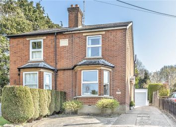 Thumbnail 2 bed semi-detached house for sale in Broadway Road, Windlesham, Surrey