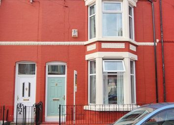 Thumbnail 4 bed terraced house for sale in Chetwynd Street, Aigburth, Liverpool