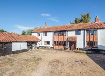 Thumbnail 5 bedroom barn conversion for sale in Snow Street, Roydon, Diss