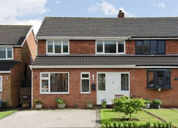 Thumbnail 3 bed semi-detached house for sale in Wallheath Crescent, Stonnall, Walsall