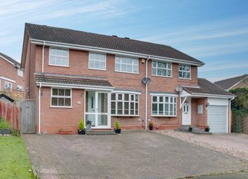 Thumbnail 4 bed semi-detached house for sale in Rosehall Close, Redditch
